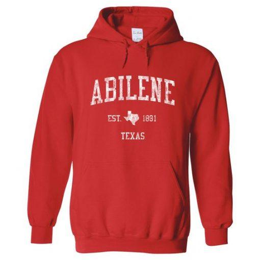 Abilene Texas Hoodie EL01