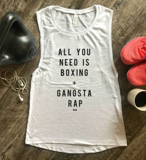 All You Need is Boxing Tank Top EC01
