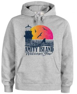 Amity island welcomes you hoodie FD01