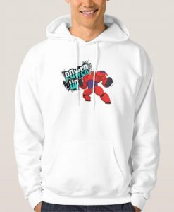 Baymax Power Up Hoodie AD01