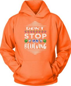 Don't Stop Believing Hoodie EL01