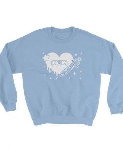 Heart Bandage Sweatshirt AD01