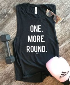 One More Round Tank Top EC01