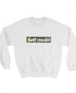 Self Made Camo Sweatshirt AD01
