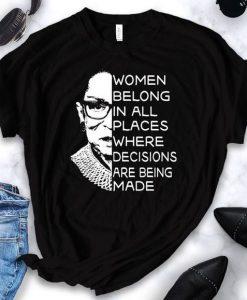 Women Belong T-Shirt SN01