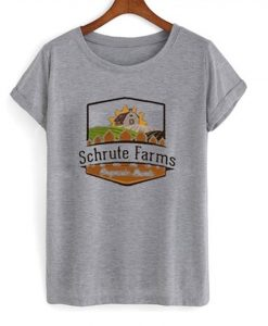 schrute farms t-shirt EC01