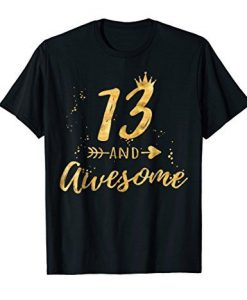 13 And Awesome T-shirt ZK01
