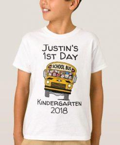 1st day of Kindergarten T-shirt FD01