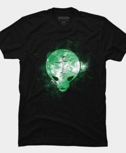 Alien skull Tshirt EC01