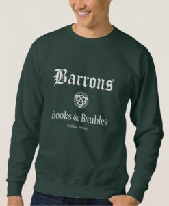 Barrons Books and Baubles Sweatshirt AD01