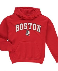 Boston University Hoodie FD01
