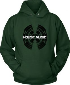 House Record Hoodie FD01