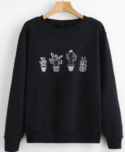 cactus graphic sweatshirt DV01