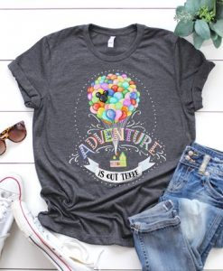 ADVENTUR IS OUT THERE T-Shirt AV01
