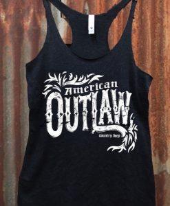 American Outlaw Racerback Tank top AV01