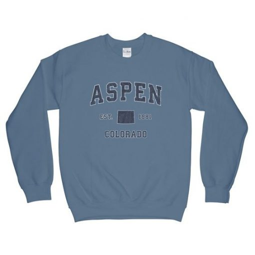 Aspen Colorado CO Sweatshirt AD01