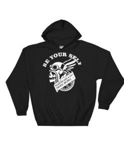 Be Your Self Whell Hoodie EL01