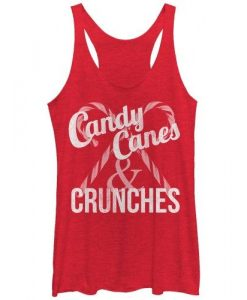 Candy Canes Tank Top FR01