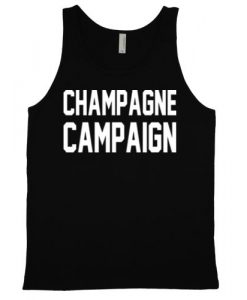 Champagne Campaign Unisex Jersey Tank Top DV01