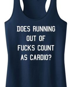 Does Running Out Tank Top SN01
