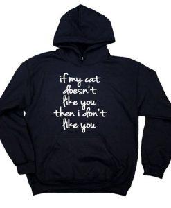 Funny Cat Hoodie KH01