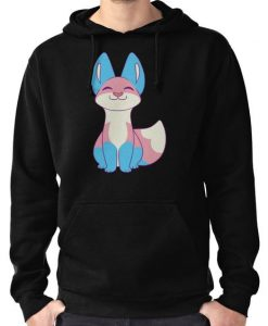 Trans Pride Fox Hoodie FD01