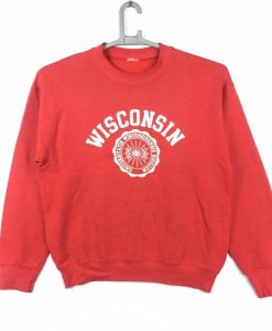 Wisconsin University Sweatshirt ZK01