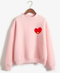 Women Love Sweatshirt ZK01