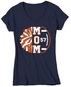 Women's Personalized Cheer Mom T Shirt FD01
