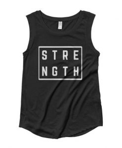 Womens Strength Square Muscle Tank Top DV01