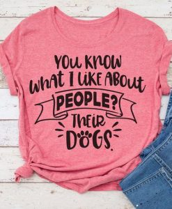 You know what I like T-Shirt AV01