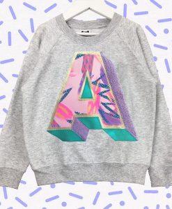 3D Letter Sweatshirt AV