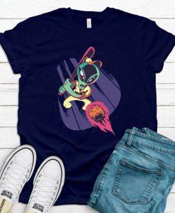 Alien baseball T Shirt SR01
