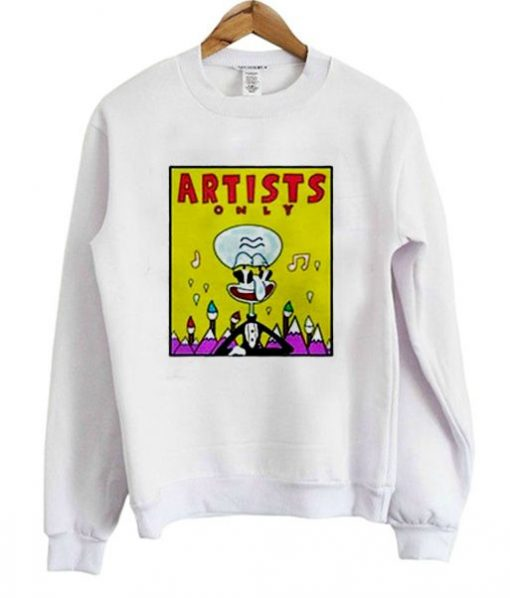 Artists Squidward Sweatshirt AI01