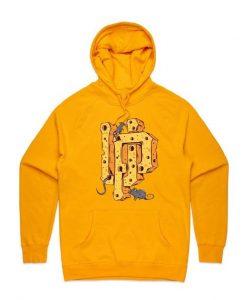 Cheese UP Yellow Hoodie EL29