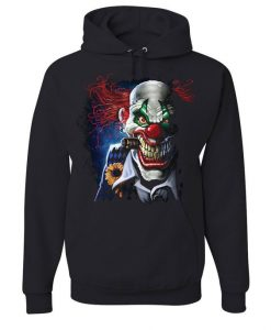 Creepy Joker Clown Hoodie EM01