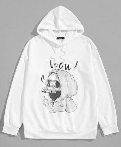 Guys Skull Hoodie EM01