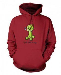Hug Me Creeper Hoodie VL01