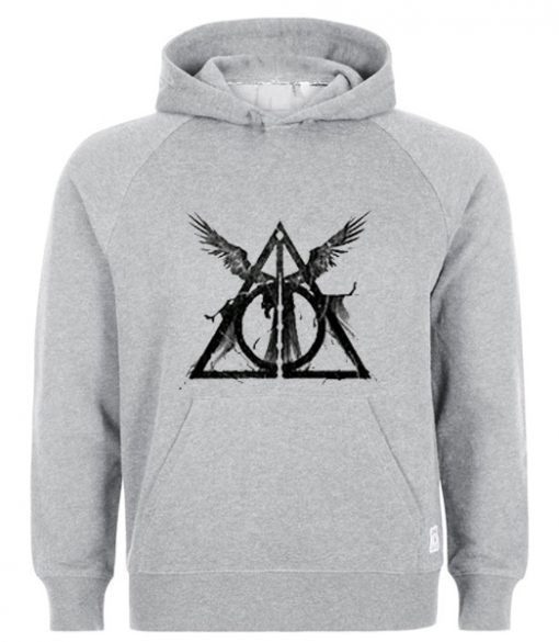 The Deathly Hallows Harry Potter Hoodie FD01