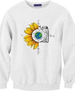 Wanderlust Sunflower Sweatshirt SR30