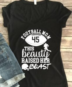 Women's Football Mom Shirt FD01