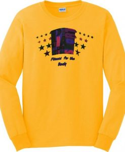 Yellow Fitness For The Body Sweatshirt EL29