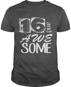 16th Birthday T Shirt EL2N