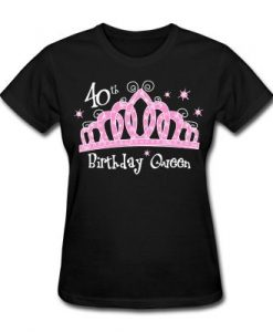 40th birthday Tshirt EL2N