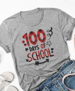 100 Days of School shirt FD17J0