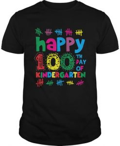 100th Day Of Kindergarten tshirt FD17J0