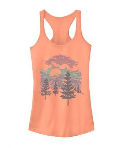 Abstract Mountains Tanktop FD14J0