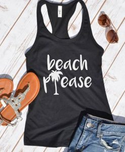 Beach Please Tanktop FD13J0