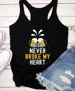 Beer Never Broke Tank Top SR21J0