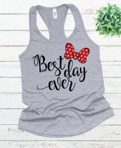 Best day ever tank top SR22J0